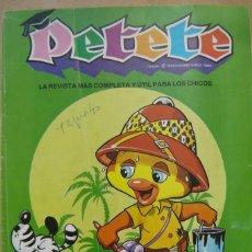 Coleccionismo de Revistas y Periódicos: REVISTA PETETE - NÚMERO 124. Lote 201117428