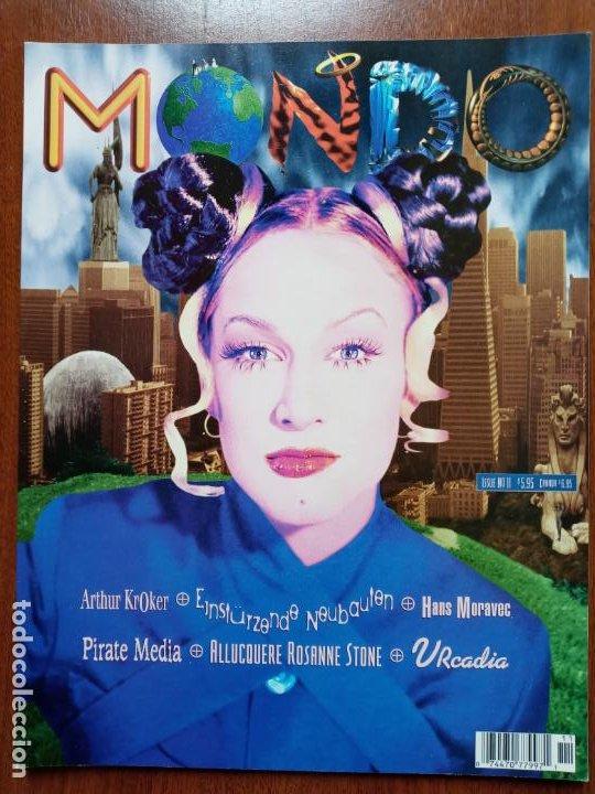 MONDO 2000- CYBERPUNK REALIDAD VIRTUAL CYBERCULTURA- MAGAZINE ISSUE N°11 (Coleccionismo - Revistas y Periódicos Modernos (a partir de 1.940) - Otros)