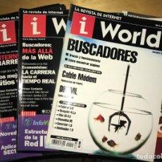 Coleccionismo de Revistas y Periódicos: LOTE 10 REVISTAS IWORLD INTERNET MAGAZINE . Lote 201265260