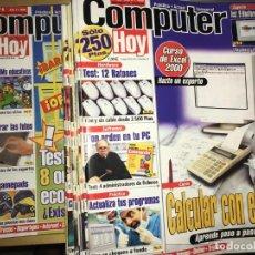 Coleccionismo de Revistas y Periódicos: LOTE DE 43 REVISTAS COMPUTER HOY - VARIOS AÑOS - PRÁCTICA ACTUAL QUINCENAL. Lote 201267896