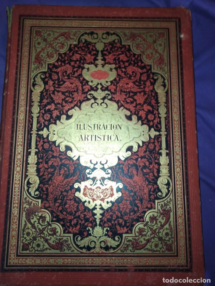 Coleccionismo de Revistas y Periódicos: ILUSTRACION ARTISTICA AÑO COMPLETO 1887 MONTANER Y SIMON - Foto 2 - 201334616