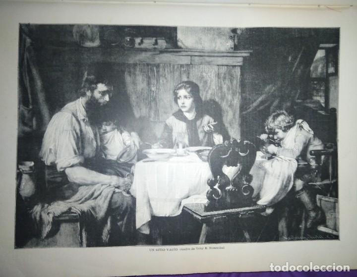 Coleccionismo de Revistas y Periódicos: ILUSTRACION ARTISTICA AÑO COMPLETO 1887 MONTANER Y SIMON - Foto 6 - 201334616