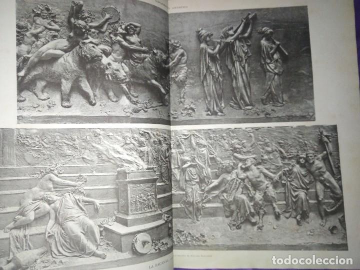 Coleccionismo de Revistas y Periódicos: ILUSTRACION ARTISTICA AÑO COMPLETO 1887 MONTANER Y SIMON - Foto 7 - 201334616