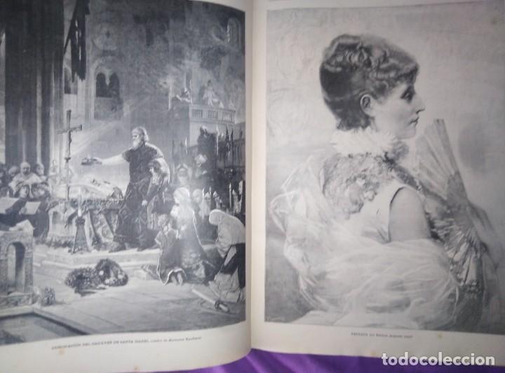 Coleccionismo de Revistas y Periódicos: ILUSTRACION ARTISTICA AÑO COMPLETO 1887 MONTANER Y SIMON - Foto 9 - 201334616