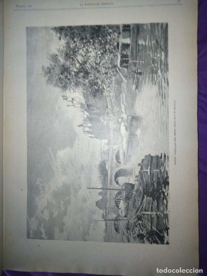 Coleccionismo de Revistas y Periódicos: ILUSTRACION ARTISTICA AÑO COMPLETO 1887 MONTANER Y SIMON - Foto 11 - 201334616