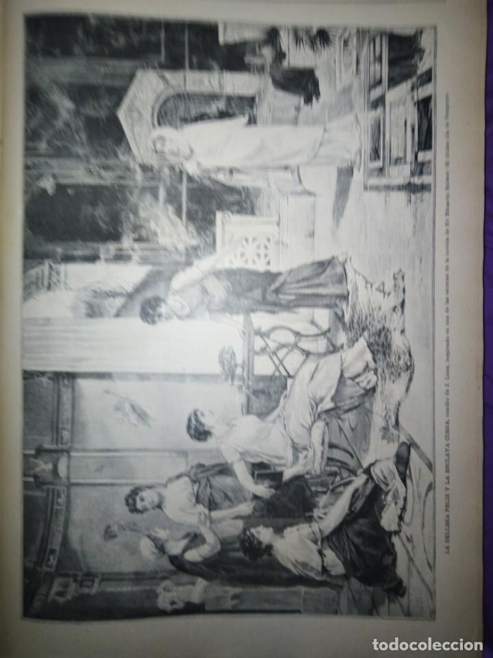 Coleccionismo de Revistas y Periódicos: ILUSTRACION ARTISTICA AÑO COMPLETO 1887 MONTANER Y SIMON - Foto 12 - 201334616