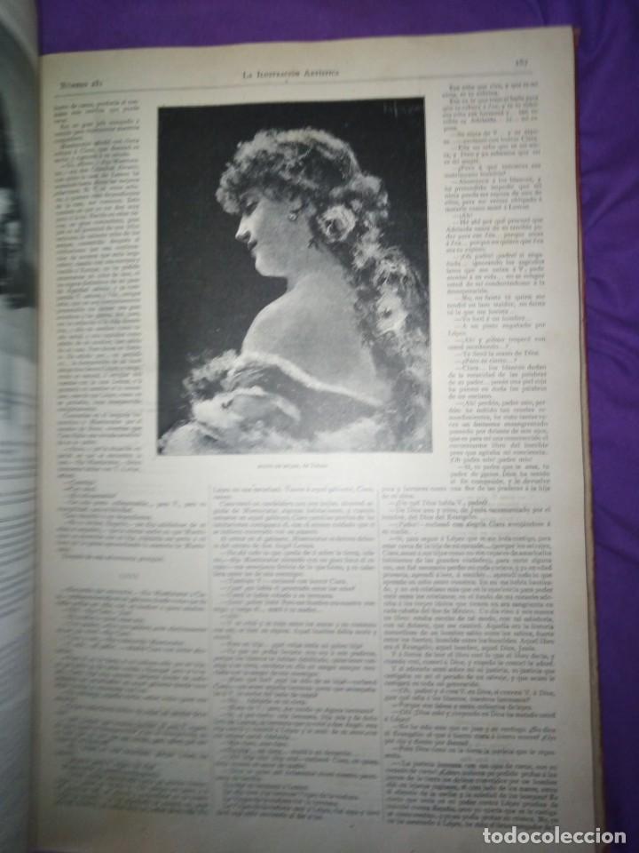 Coleccionismo de Revistas y Periódicos: ILUSTRACION ARTISTICA AÑO COMPLETO 1887 MONTANER Y SIMON - Foto 13 - 201334616