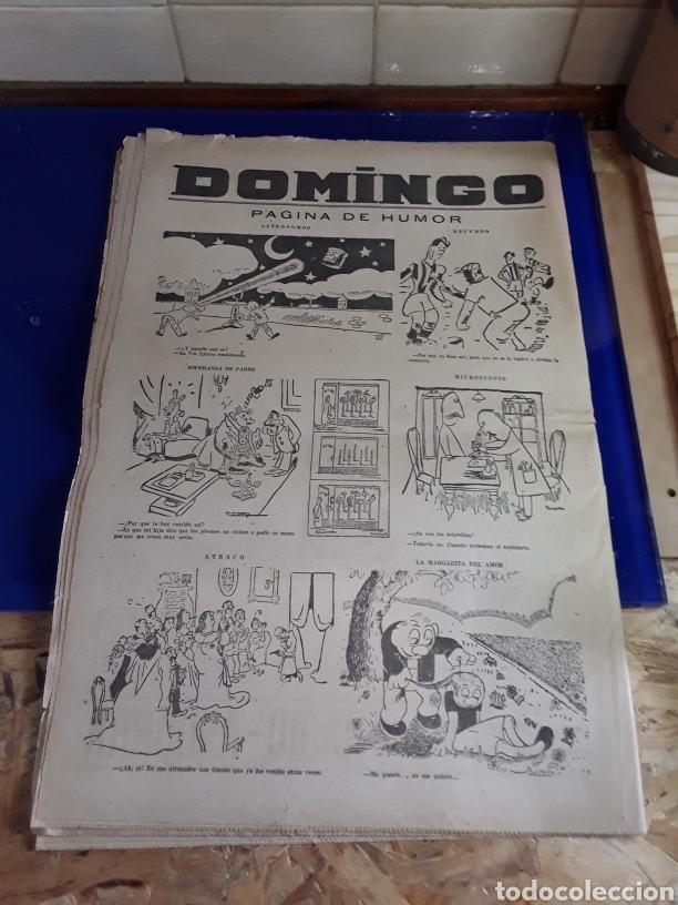 Coleccionismo de Revistas y Periódicos: Antiguo periódico DOMINGO(semanario nacional)(26 de enero de 1947) - Foto 2 - 201598881