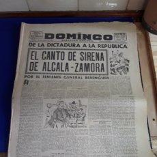 Coleccionismo de Revistas y Periódicos: ANTIGUO PERIÓDICO DOMINGO(SEMANARIO NACIONAL)(26 DE ENERO DE 1947). Lote 201598881