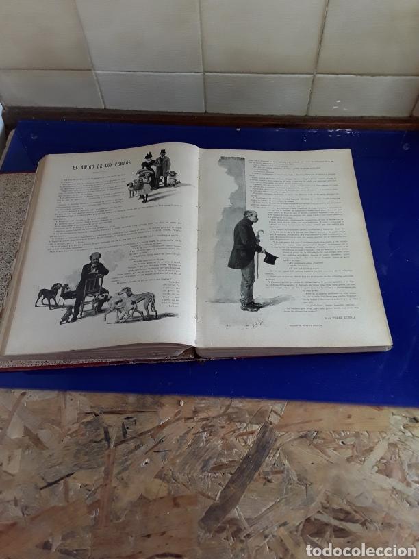 Coleccionismo de Revistas y Periódicos: Revistas encuadernados del siglo XIX EN BLANCO Y NEGRO AÑO 1897,desde el n°296al n°346 - Foto 3 - 201608142