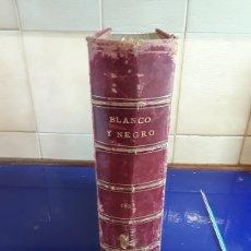 Coleccionismo de Revistas y Periódicos: REVISTAS ENCUADERNADOS DEL SIGLO XIX EN BLANCO Y NEGRO AÑO 1897,DESDE EL N°296AL N°346. Lote 201608142