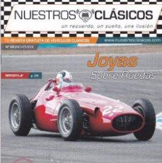 Coleccionismo de Revistas y Periódicos: NUESTRO CLASICOS REVISTA DE VEHÍCULOS CLÁSICOS. Lote 201644696