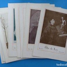 Coleccionismo de Revistas y Periódicos: ORO DE LEY, 12 ANTIGUAS REVISTAS, AÑO 1927, VER FOTOS ADICIONALES. Lote 202469777