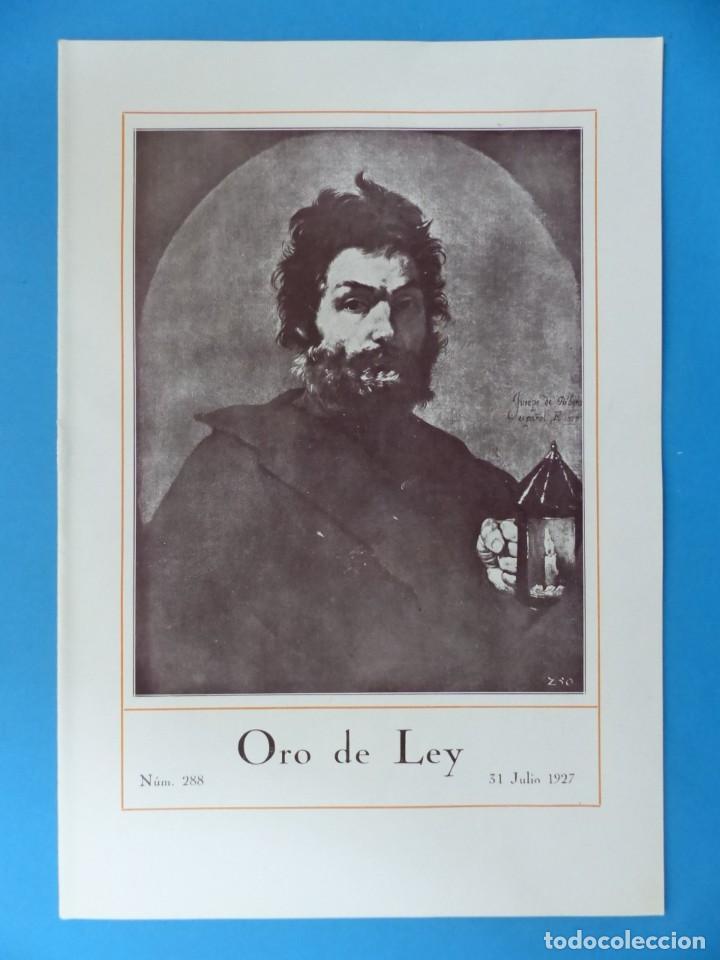 Coleccionismo de Revistas y Periódicos: ORO DE LEY, 12 ANTIGUAS REVISTAS, AÑO 1927, VER FOTOS ADICIONALES - Foto 3 - 202469777