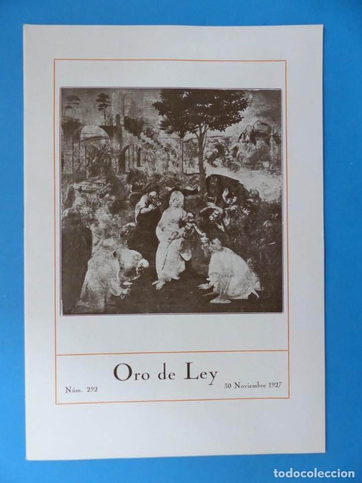 Coleccionismo de Revistas y Periódicos: ORO DE LEY, 12 ANTIGUAS REVISTAS, AÑO 1927, VER FOTOS ADICIONALES - Foto 7 - 202469777