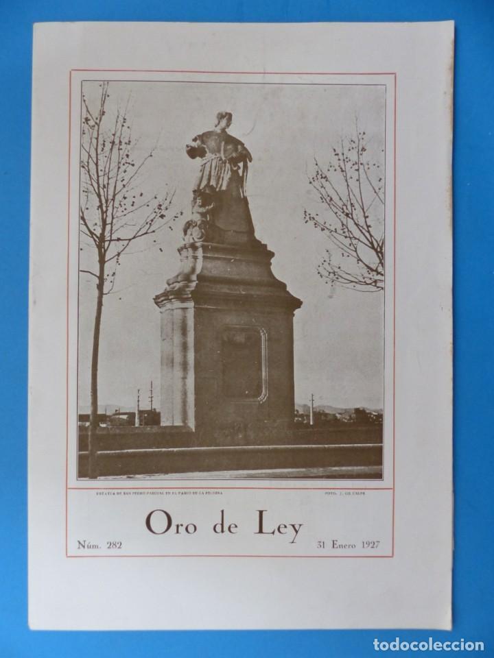 Coleccionismo de Revistas y Periódicos: ORO DE LEY, 12 ANTIGUAS REVISTAS, AÑO 1927, VER FOTOS ADICIONALES - Foto 8 - 202469777