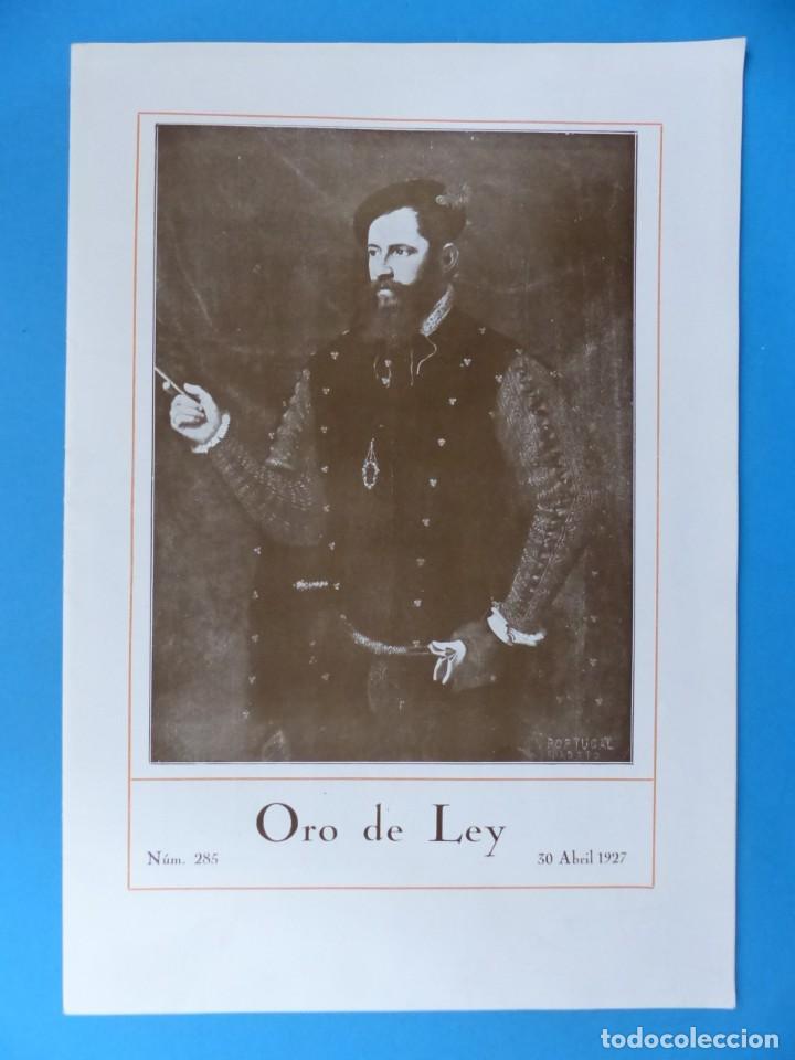 Coleccionismo de Revistas y Periódicos: ORO DE LEY, 12 ANTIGUAS REVISTAS, AÑO 1927, VER FOTOS ADICIONALES - Foto 11 - 202469777