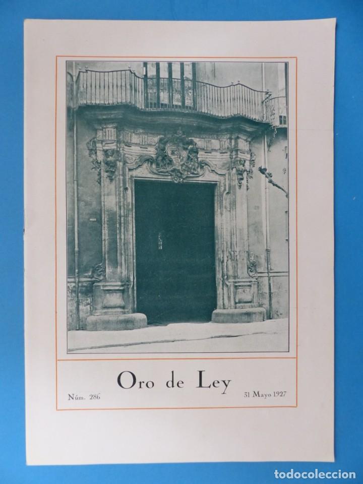 Coleccionismo de Revistas y Periódicos: ORO DE LEY, 12 ANTIGUAS REVISTAS, AÑO 1927, VER FOTOS ADICIONALES - Foto 12 - 202469777