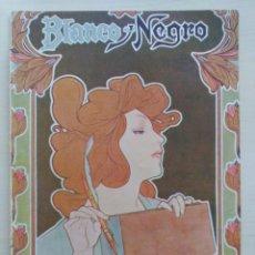 Colecionismo de Revistas e Jornais: REVISTA BLANCO Y NEGRO Nº 583 - 5/7/1902 (ALLARIZ, ORENSE, MADRID, ALGECIRAS, ENRIQUE VII). Lote 202639481