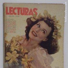 Coleccionismo de Revistas y Periódicos: LECTURAS JULIO 1942. Lote 202733423