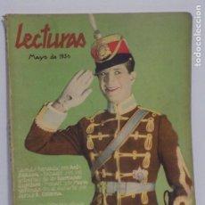 Coleccionismo de Revistas y Periódicos: LECTURAS MAYO 1930. Lote 202733437