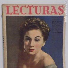 Coleccionismo de Revistas y Periódicos: LECTURAS MARZO 1943. Lote 202733457