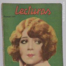 Coleccionismo de Revistas y Periódicos: LECTURAS JUNIO 1931. Lote 202733477