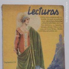 Coleccionismo de Revistas y Periódicos: LECTURAS SEPTIEMBRE 1930. Lote 202733521