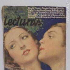 Coleccionismo de Revistas y Periódicos: LECTURAS FEBRERO 1930. Lote 202733572