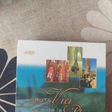 Coleccionismo de Revistas y Periódicos: 4 DVDS LA RUTA DE LA PLATA. Lote 202760607