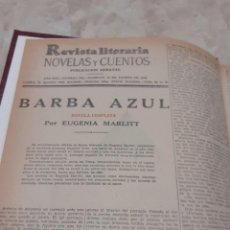 Coleccionismo de Revistas y Periódicos: REVISTA NOVELAS Y CUENTOS LITERARIOS AÑOS 40 ENCUADERNADAS. Lote 202770653