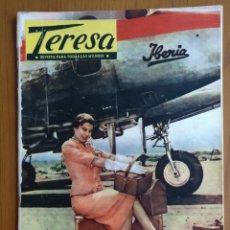 Coleccionismo de Revistas y Periódicos: TERESA. REVISTA PARA TODAS LAS MUJERES. NÚM. 45, SEPTIEMBRE 1957.. Lote 203158145