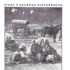 Collezionismo di Riviste e Giornali: 1911 HOJA REVISTA SEVILLA FAMILIA EN MERCADO DE GANADOS FOTO DE SÁNCHEZ TIPOS CABALLOS Y CARRETA. Lote 203344823