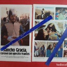 Coleccionismo de Revistas y Periódicos: ANA BELEN EN RODAJE DE SANCHO GRACIA - ENTREVISTA- 2 PAG.RECORTE - AÑO 1982. Lote 203449022