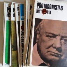 Coleccionismo de Revistas y Periódicos: 39 FASCÍCULOS DE LOS PROTAGONISTAS DE LA HISTORIA.. Lote 203490455