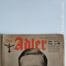 Coleccionismo de Revistas y Periódicos: 5 REVISTAS DER ADLER DE 1941. Lote 203493140