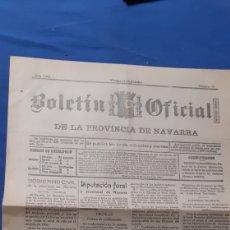 Colecionismo de Revistas e Jornais: BOLETÍN OFICIAL DE LA PROVINCIA DE NAVARRA 1938 NÚMERO 18. Lote 203766600