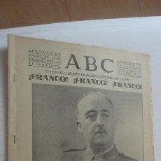 Collezionismo di Riviste e Giornali: ANTIGUO PERIODICO ABC ENERO 1939.GUERRA CIVIL. BARCELONA.. Lote 203827175