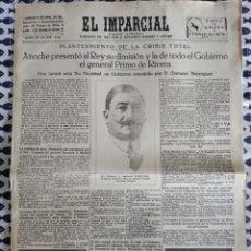 Coleccionismo de Revistas y Periódicos: EL IMPARCIAL.29 DE ENERO 1930. DIARIO LIBERAL. Lote 203889521