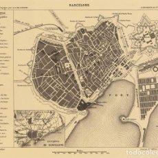 Coleccionismo de Revistas y Periódicos: BARCELONA. 1866. DUFOUR. PLAN. Lote 203991137