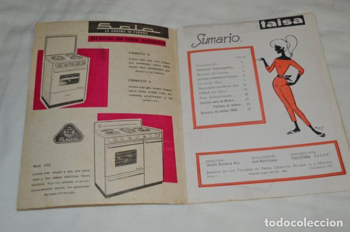 Coleccionismo de Revistas y Periódicos: Revista TAISA (Málaga) / Diciembre 1961 - Número 1 - Raro ejemplar, 1º número editado ¡Muy difícil! - Foto 3 - 204086756