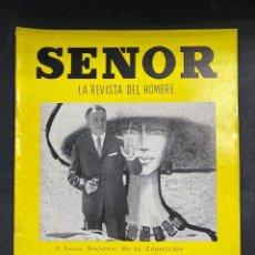 Coleccionismo de Revistas y Periódicos: LA REVISTA DEL HOMBRE. SEÑOR. VERANO 1962. RARISIMA EN COMERCIO. VER FOTOS. Lote 204120598