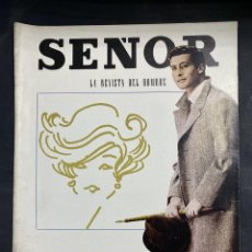 Coleccionismo de Revistas y Periódicos: LA REVISTA DEL HOMBRE. SEÑOR. OTOÑO 1962. RARISIMA EN COMERCIO. VER FOTOS. Lote 204120971