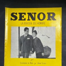 Coleccionismo de Revistas y Periódicos: LA REVISTA DEL HOMBRE. SEÑOR. VERANO 1961. RARISIMA EN COMERCIO. VER FOTOS. Lote 204121107