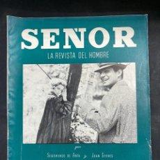 Coleccionismo de Revistas y Periódicos: LA REVISTA DEL HOMBRE. SEÑOR. INVIERNO 1961-62. RARISIMA EN COMERCIO. VER FOTOS. Lote 204121205