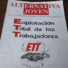Colecionismo de Revistas e Jornais: ALTERNATIVA JOVEN,ALTERNATIVA EUROPEA,NACIONAL REVOLUCIONARIA,NUMERO 8 REF. UR EST. Lote 204499546