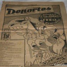 Coleccionismo de Revistas y Periódicos: DEPORTES ROTATIVO GRAFICO SEMANAL 200 NUMERO EXTRAORDINARIO DEDICADO A LA FERIA VALENCIANA 1945. Lote 204626852