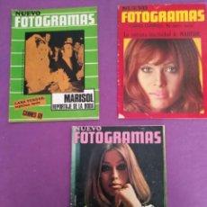 Coleccionismo de Revistas y Periódicos: NUEVO FOTOGRAMAS MARISOL LOTE REVISTAS. Lote 204634168