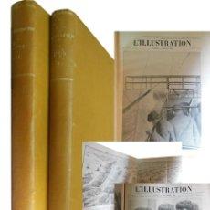 Coleccionismo de Revistas y Periódicos: L'ILLUSTRATION. 2 TOMOS. ENERO 1909 - DICIEMBRE 1909.. Lote 204675277