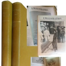 Coleccionismo de Revistas y Periódicos: L'ILLUSTRATION. 2 TOMOS. ENERO 1910 - DICIEMBRE 1910.. Lote 204675426
